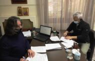 Υπογραφή σύμβασης για τη βελτίωση του εσωτερικού δικτύου ύδρευσης στον οικισμό της Νεράϊδας