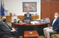 Υποβολή προτάσεων στον αν. υπουργό Υγείας από τον περιφερειάρχη Δυτικής Μακεδονίας.