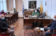 Συναντήσεις του Παναγιώτη Πλακεντά με το διοικητικό συμβούλιο του Εμπορικού Συλλόγου Πτολεμαΐδας και με τον Πρόεδρο του Αγροτικού Συνεταιρισμού Αγροκτηνοτρόφων Εορδαίας.