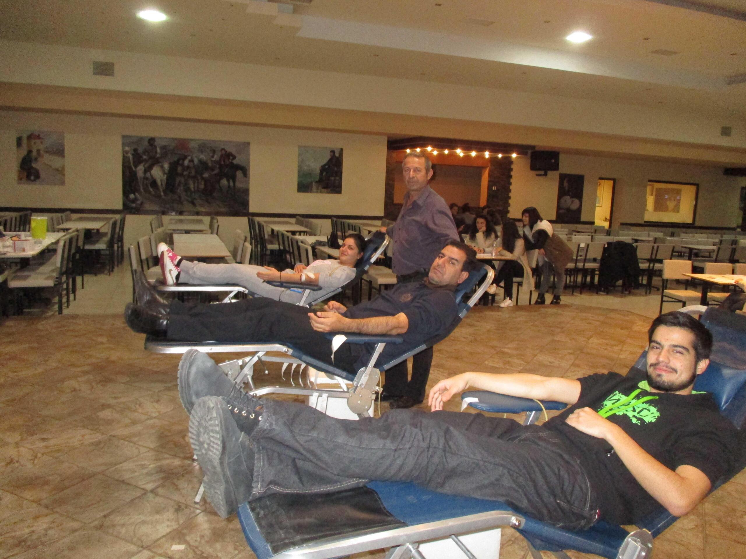 Ένας ακόμη Δωρητής ζωής από τον Σύλλογο Εθελοντών Αιμοδοτών Κοζάνης