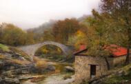 Χρυσαυγή Κοζάνης : Το όμορφο γεφύρι, ο νερόμυλος και ο καταρράκτης
