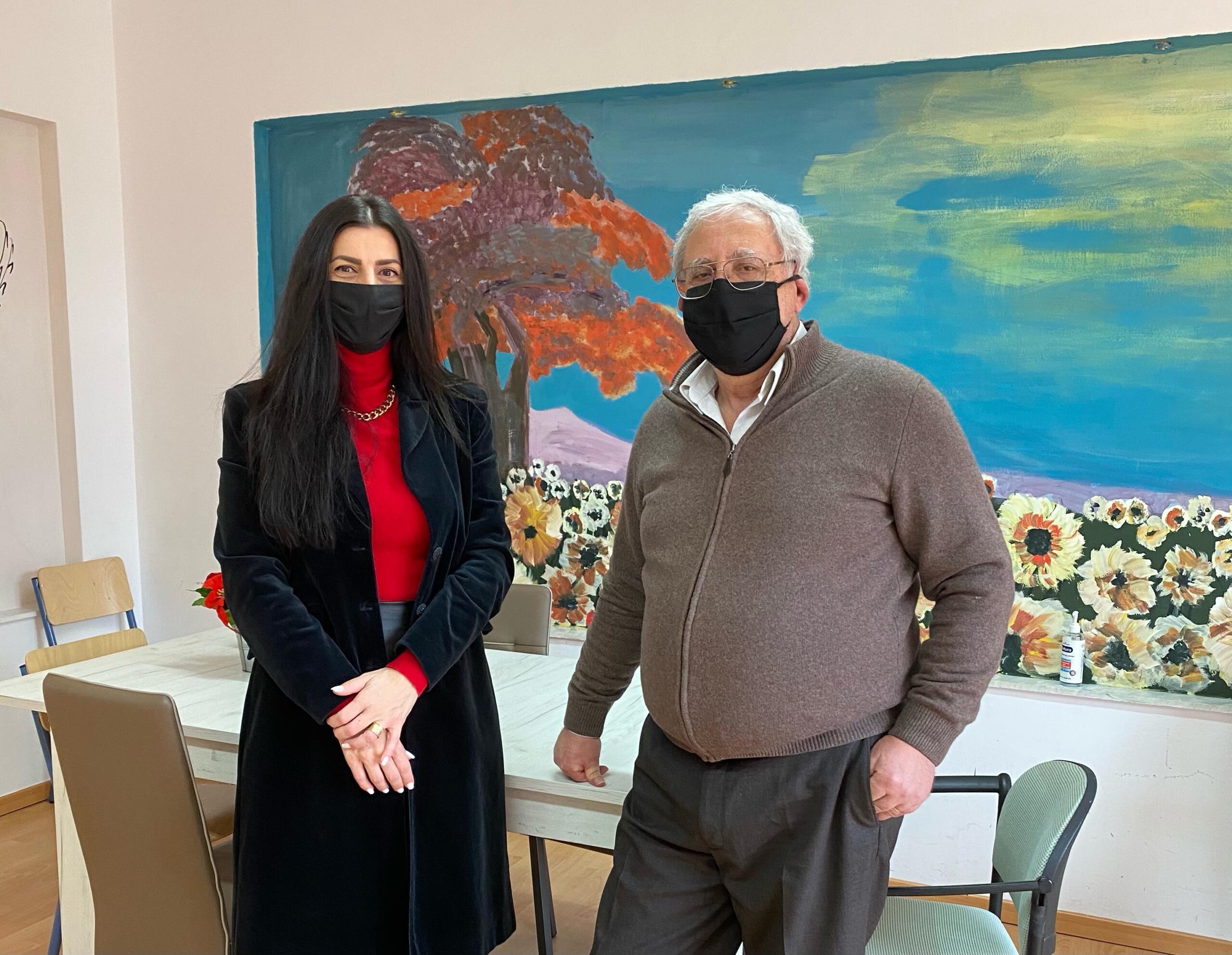 Επίσκεψη της Αντιπεριφερειάρχη Παιδείας και Πολιτισμού, κας Πουταχίδου Όλγας, στις Σχολικές Μονάδες Ειδικής Αγωγής, Εορδαίας.