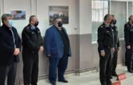 Στην τελετή ορκωμοσίας νέων Πυροσβεστών της Σχολής Πτολεμαΐδας, παραβρέθηκε ο Δήμαρχος Εορδαίας Παναγιώτης Πλακεντάς. Συνάντηση με τον Υπαρχηγό του Πυροσβεστικού Σώματος.