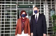 Τον Υπουργό και Υφυπουργό Αγροτικής Ανάπτυξης κ. Σπήλιο Λιβανό και  κ. Γιάννη Οικονόμου συνάντησε η Βουλευτής Ν. Κοζάνης Παρασκευή Βρυζίδου
