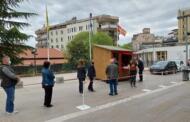 Αρνητικά όλα τα rapid tests για covid 19 στην κεντρική πλατεία της Κοζάνης