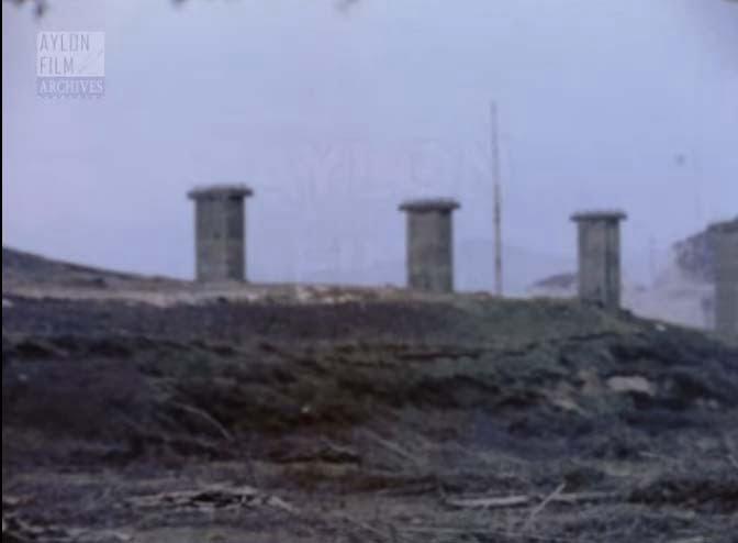 1973 - Σπάνια πλάνα.. Η Υψηλή Γέφυρα στη λίμνη Πολυφύτου υπό κατασκευή. Βουβό φιλμ super 8mm.
