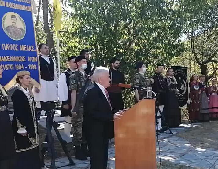 Συγκίνησε και συνεπήρε με την  ομιλία του ο στρατηγός ΕΑ Νίκος Καρατουλιώτης με θέμα: