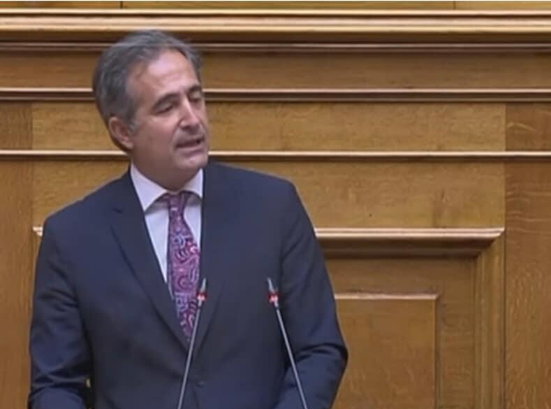 Ομιλία Στάθη Κωνσταντινίδη στο σ/ν για τον εκσυγχρονισμό του Νομικού Συμβουλίου του Κράτους