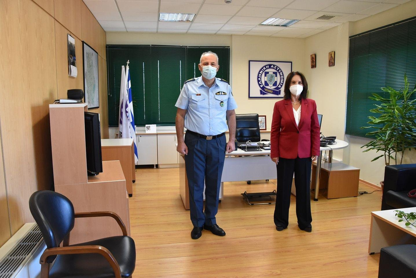 «Καλλιόπη Βέττα: Επίσκεψη στην Γενική Περιφερειακή Αστυνομική Διεύθυνση Δυτικής Μακεδονίας»