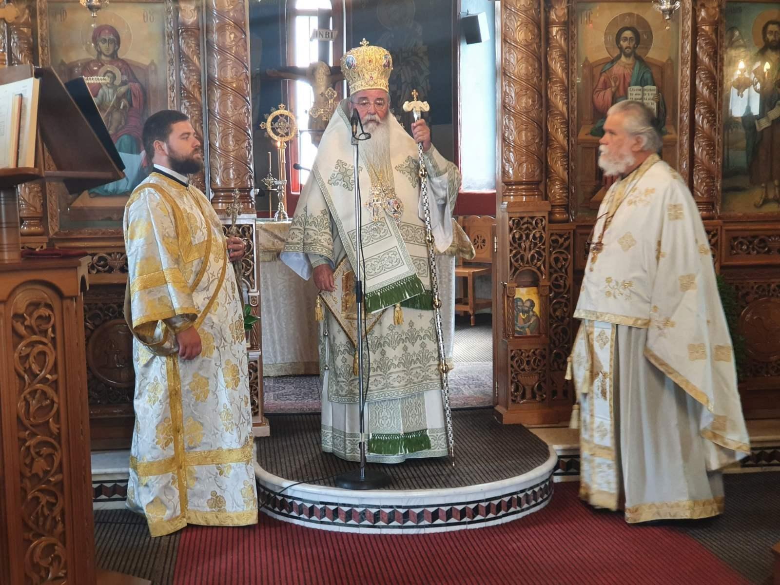 Σερβίων και Κοζάνης Παύλος στο Βελβεντό: ''Πρότυπο των γυναικών η Παναγία''.  (του παπαδάσκαλου Κωνσταντίνου Ι. Κώστα)