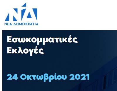 Εσωκομματικές εκλογές Νέας Δημοκρατίας 2021. Πως ψηφίζετε ηλεκτρονικά ή δια ζώσης
