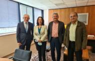 Καλλιόπη Βέττα: Συνάντηση με τον Πρόεδρο του ΕΛ.Γ.Α. για θέματα των αγροτικών αποζημιώσεων της Π.Ε. Κοζάνης